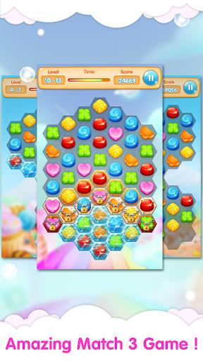 キャンディヘキサ - マッチゲーム