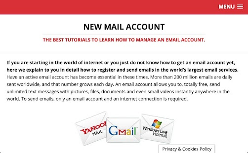 Mail Account- screenshot thumbnail