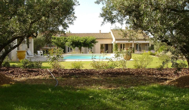 Propriété avec piscine Eygalières
