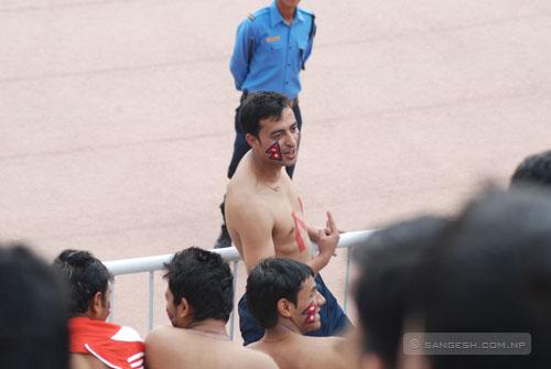 Nepali Football Fan
