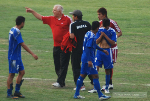 Graham Roberts - Nepalese Team coach