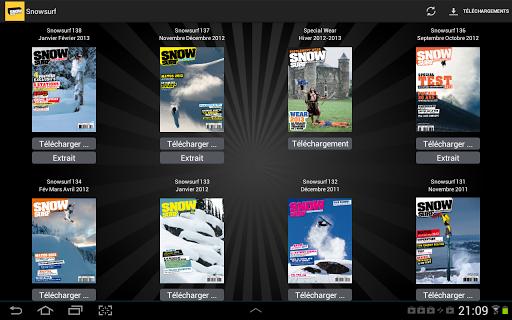 Snowsurf Magazine screenshot 1