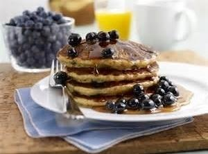 Blueberry Buckwheat Pancakes Recipe