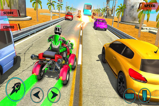 ATV Quad Bike Racing Simulator: Bike Shooting Game Apk 1