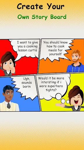Cartoon Comic Strip Maker 1.6 Screenshots 4