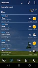 Transparent clock & weather Screenshot 16