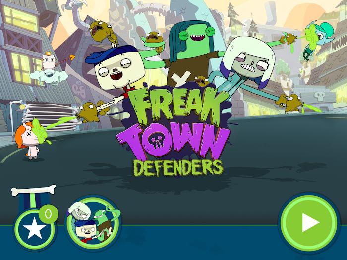 Freaktown Defenders v1.1 APK