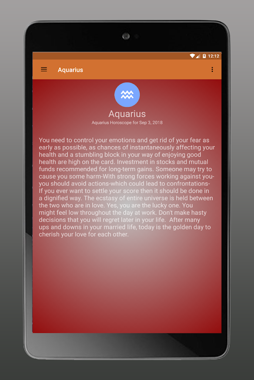 Aquarius horoscope today, Tarot cards – (Android Apps) — AppAgg