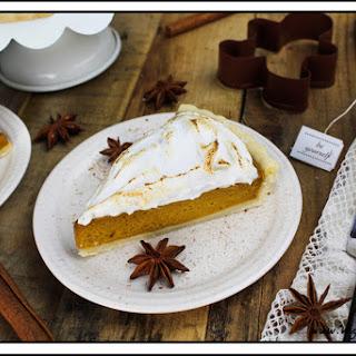 Vegan Pumpkin Meringue Pie