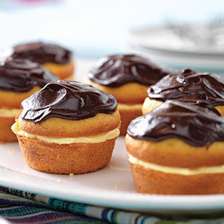 Boston Cream Pie Minis
