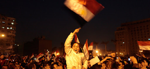 Husni Mubarak quit - Egypt celebrates democracy