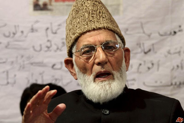 OSJK is world's most militarized zone, says Geelani