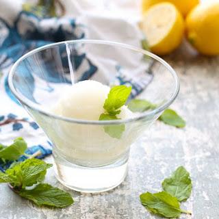 Lemon Sorbet.