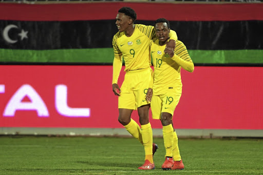 Lebogang Mothiba and Percy Tau.