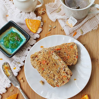 Carrot & Sunflower Seed Breakfast Bread