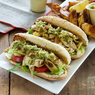 Artichoke Muffaleta Po' Boys from Cook the Book.