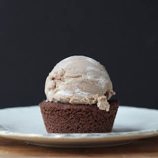 Chocolate Ice Cream with Buttercream Frosting.