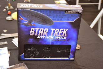 Photo: Star Trek nejen pro fanoušky tohoto sci-fi seriálu. Je to hra s miniaturami jako Star Wars, dají se kombinovat.