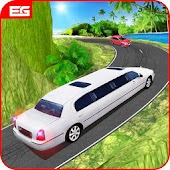 Limousine Taxi Offroad Parking