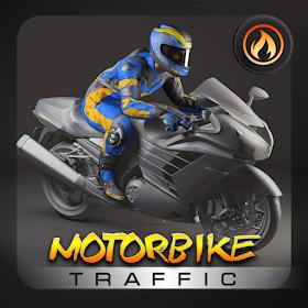 Motorbike Highway Traffic