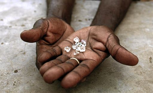 Diamond mining industry has collapsed due to Covid-19.