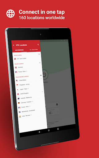 Screenshot for ExpressVPN - Unlimited Secure VPN Proxy in Hong Kong Play Store