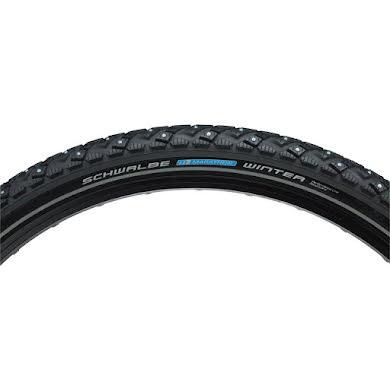 "Schwalbe Marathon Winter Plus Studded Wire Bead Tire, 26 x 2.0"""