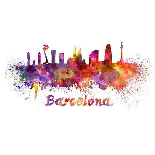 Barcelona GO Keyboard HD theme