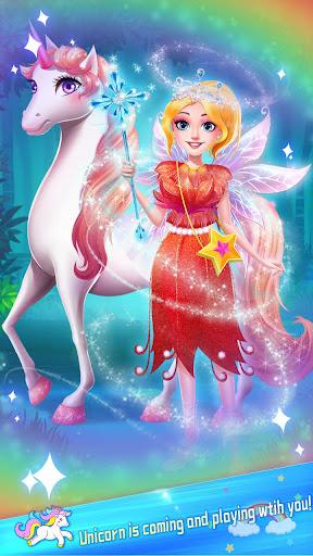 ud83dudc78Rainbow Princess & Unicorn Makeup - Fashion Trip 1.5.5009 screenshots 6