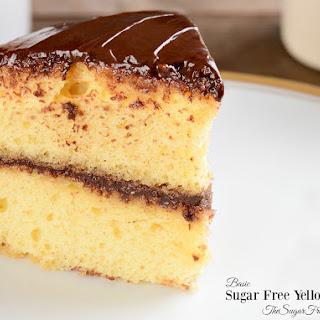 Sugar Free Basic Yellow Cake