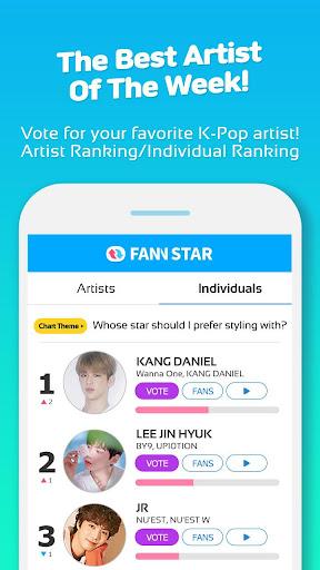 FAN N STAR (K-POP Idols Ranking Votes) 1.7.3 4