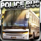 3D Police Bus Prison Transport