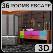 3D Escape Games-Bathroom