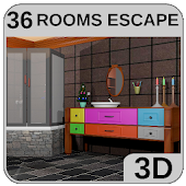 3D Escape Games-Bathroom