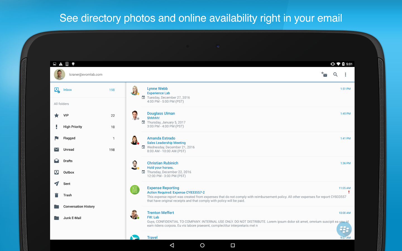 Blackberry work android apps on google play for Application miroir blackberry
