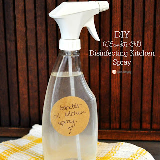 Bandits Oil Disinfecting Kitchen Spray.