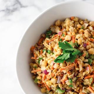 Mashed Chickpea Salad