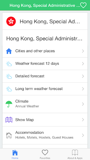 Hong Kong weather guide