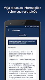 Consulta Restituição IRPF 2017 - náhled
