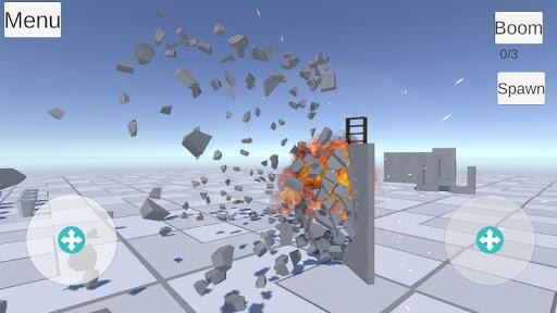 Destruction physics  trampa 8