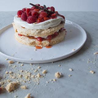 Strawberry-Raspberry Pavlova