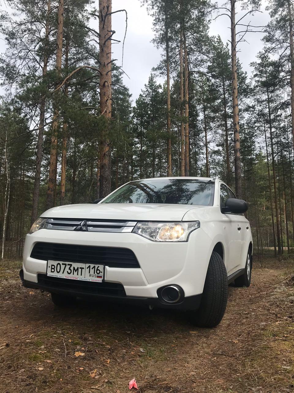 Митцубиси аулендр в Казани