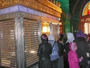 Photo: Bibi Okuma Khanum mauzóleuma, iszlám szentek, siíta imám, Siíta szentély