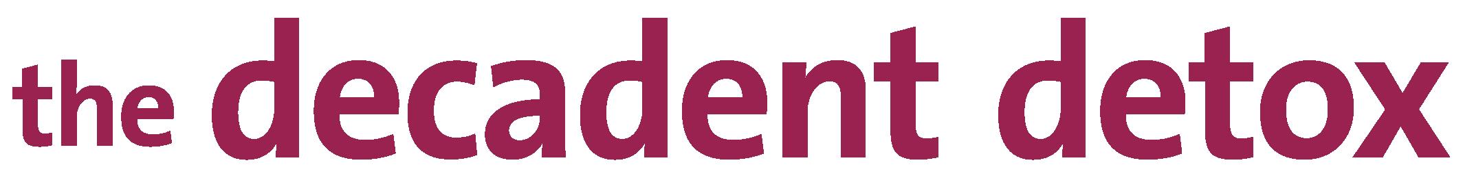 Decadent Detox Logo