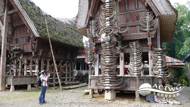 印尼蘇拉威西 度拉加 舉世聞名的傳統船屋