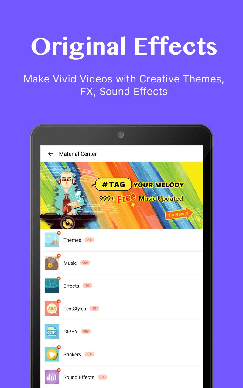 VideoShow Video Editor, Video Maker,Beauty Camera Screenshot 18