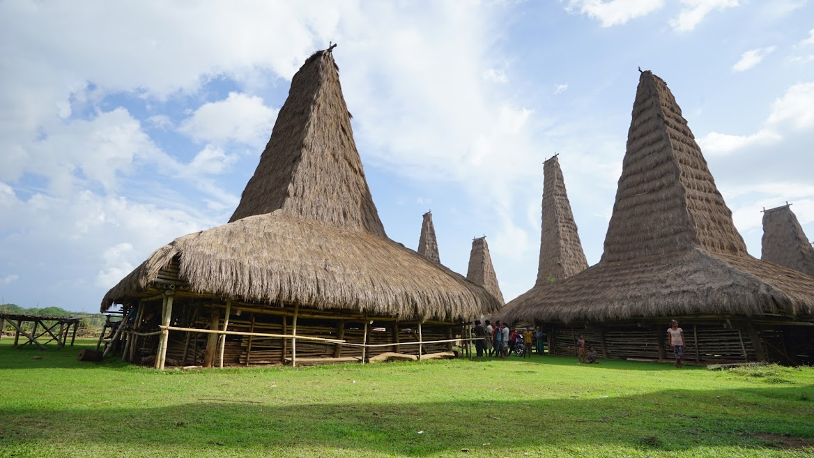 Sumba traditional houses