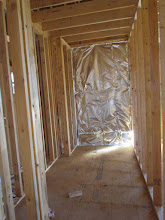 Photo: Hall closet, and entry to the front bath and bedrooms