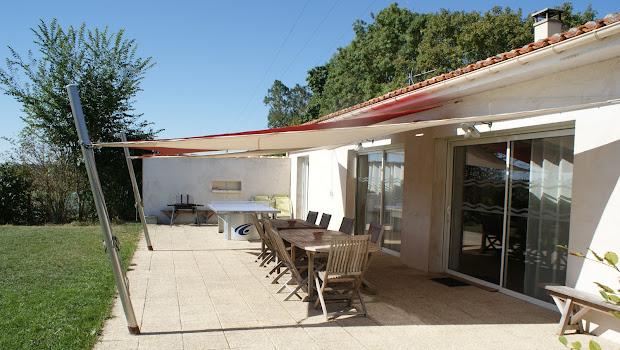 La Grange, casa rural de 8 personas cerca de La Rochelle y del mar.