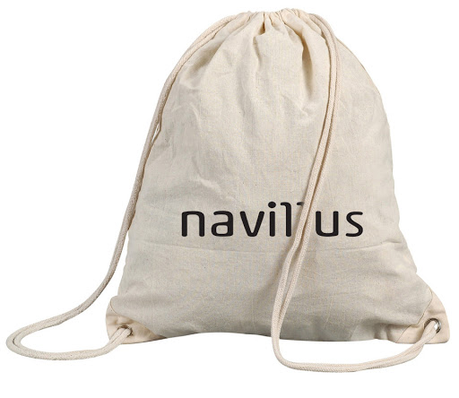 natural cotton drawstring backpacks